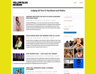 yellowslugreviews.wordpress.com screenshot
