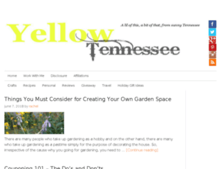 yellowtennessee.com screenshot