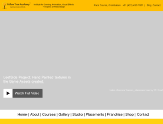 yellowtreeacademy.in screenshot