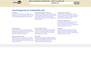 yellowusa.com screenshot