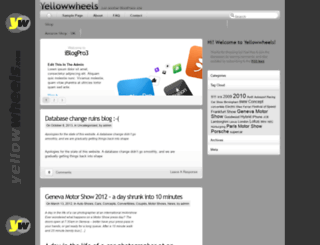 yellowwheels.com screenshot