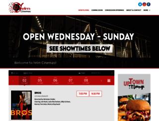 yelmcinemas.com screenshot