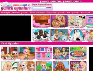 yemekoyunlarim.org screenshot