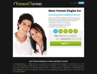 yemendating.com screenshot