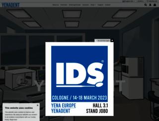 yenadent.com screenshot