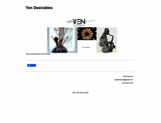 yendesirables.yolasite.com screenshot