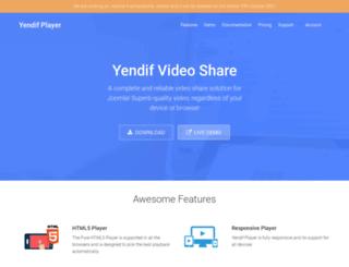 yendifplayer.com screenshot