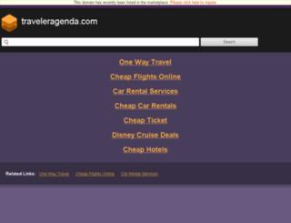 yenidonem.traveleragenda.com screenshot