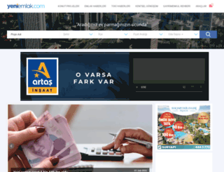 yeniemlak.com screenshot