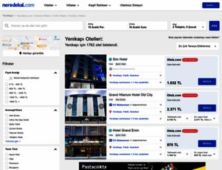 yenikapi.neredekal.com screenshot
