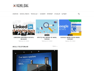 yenil.org screenshot