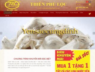 yensaocungdinh.com screenshot