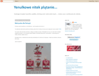 yenulka.blogspot.com screenshot
