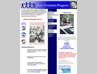 yes-svdp.org screenshot