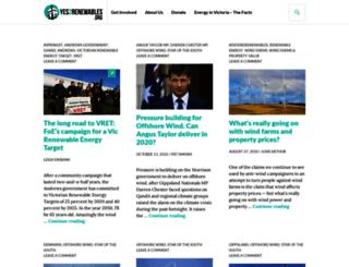yes2renewables.org screenshot