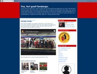 yesferiguellfandango.blogspot.com screenshot
