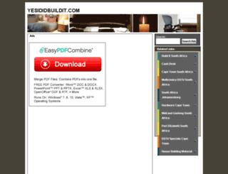 yesididbuildit.com screenshot