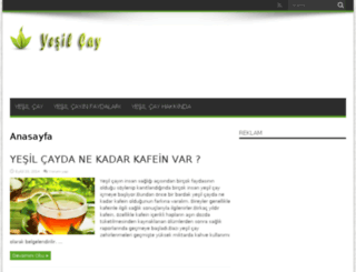 yesilcayinfaydalari.net screenshot