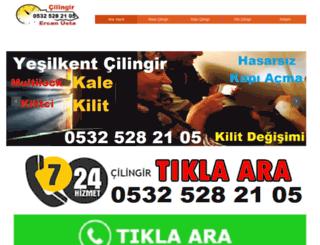 yesilkent.cilingircisi.com screenshot