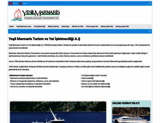 yesilmarmaris.com screenshot