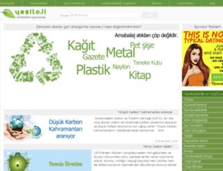 yesiloji.com screenshot