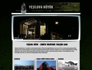 yesilova.ege.edu.tr screenshot