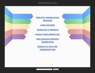 yesilsozluk.com screenshot