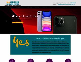 yesoptusbusinesscentre.com.au screenshot