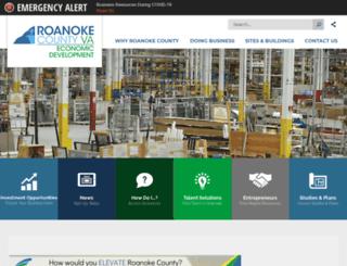 yesroanoke.org screenshot