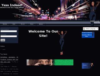 yessindeed.spruz.com screenshot