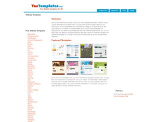 yestemplates.com screenshot