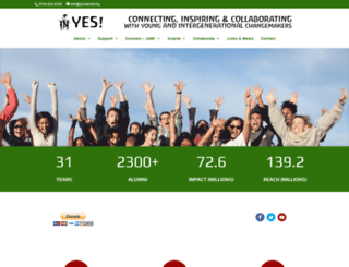yesworld.org screenshot