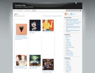 yeticket.com screenshot