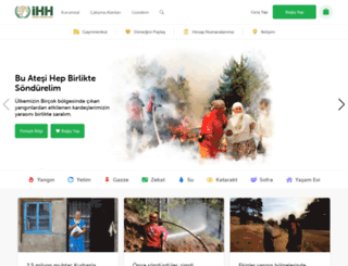 yetim.ihh.org.tr screenshot