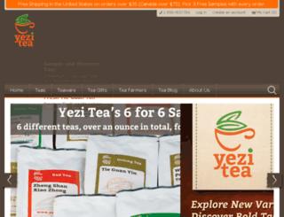 yezitea.com screenshot