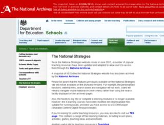 ygt.dcsf.gov.uk screenshot