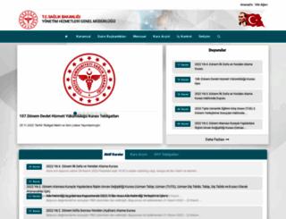 yhgm.saglik.gov.tr screenshot