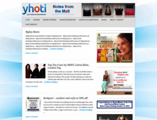 yhoti.wordpress.com screenshot