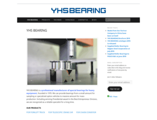 yhsbearing.com screenshot