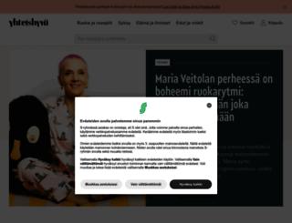 yhteishyva.net screenshot