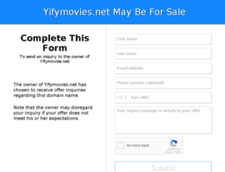 yifymovies.net screenshot