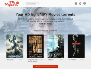 yifypopcorn.com screenshot