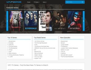 yifytvseries.com screenshot