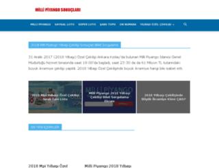 yilbasi.millipiyangosonuclari.com screenshot