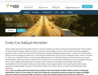 yildirimnakliyat.com screenshot