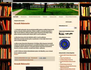 yildizmetalurji.blogspot.com screenshot