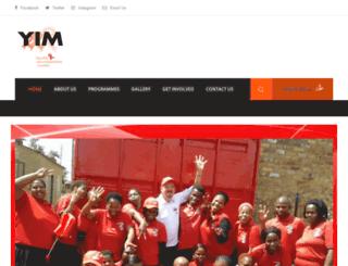 yim.org.za screenshot