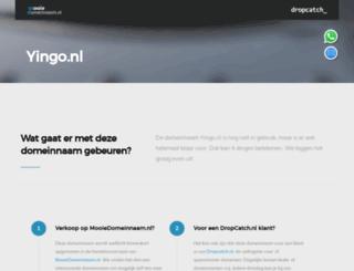 yingo.nl screenshot