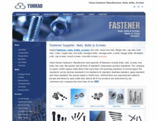 yinmao-fastener.com screenshot