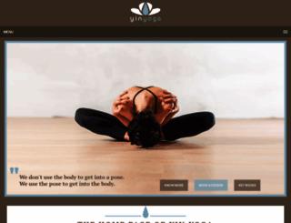 yinyoga.com screenshot